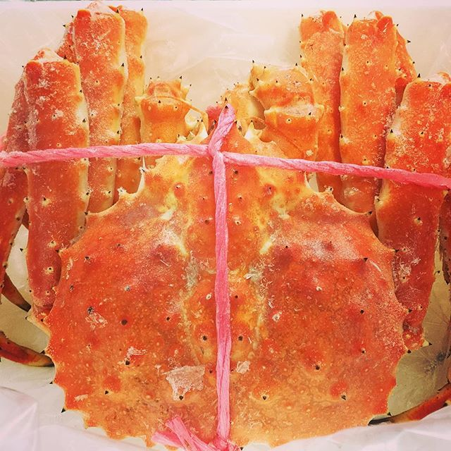 King crab タラバガニThe package has arrived today.